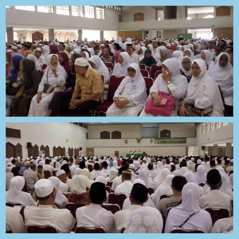Haji sehat negara kuat manasik massal calon haji se-jakarta timur asrama haji Pondok gede