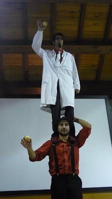 Antonio Iavarone e Pietro Olla. Foto di Silvia Muratori
