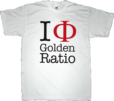 phi golden ratio design nature t-shirt ephemeral-t-shirts math