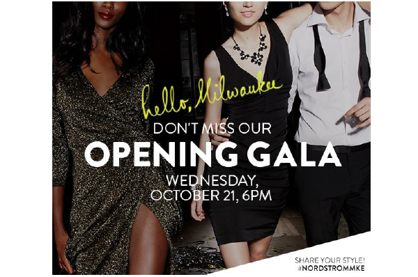 Nordstrom Milwaukee's Opening Week Events