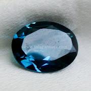 Batu Permata London Blue Topaz - SP943