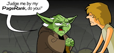 message de yoda sur le pagerank