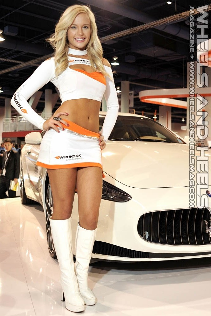 Korean Car Show Models Ko Jin Young Tuning Car Contest