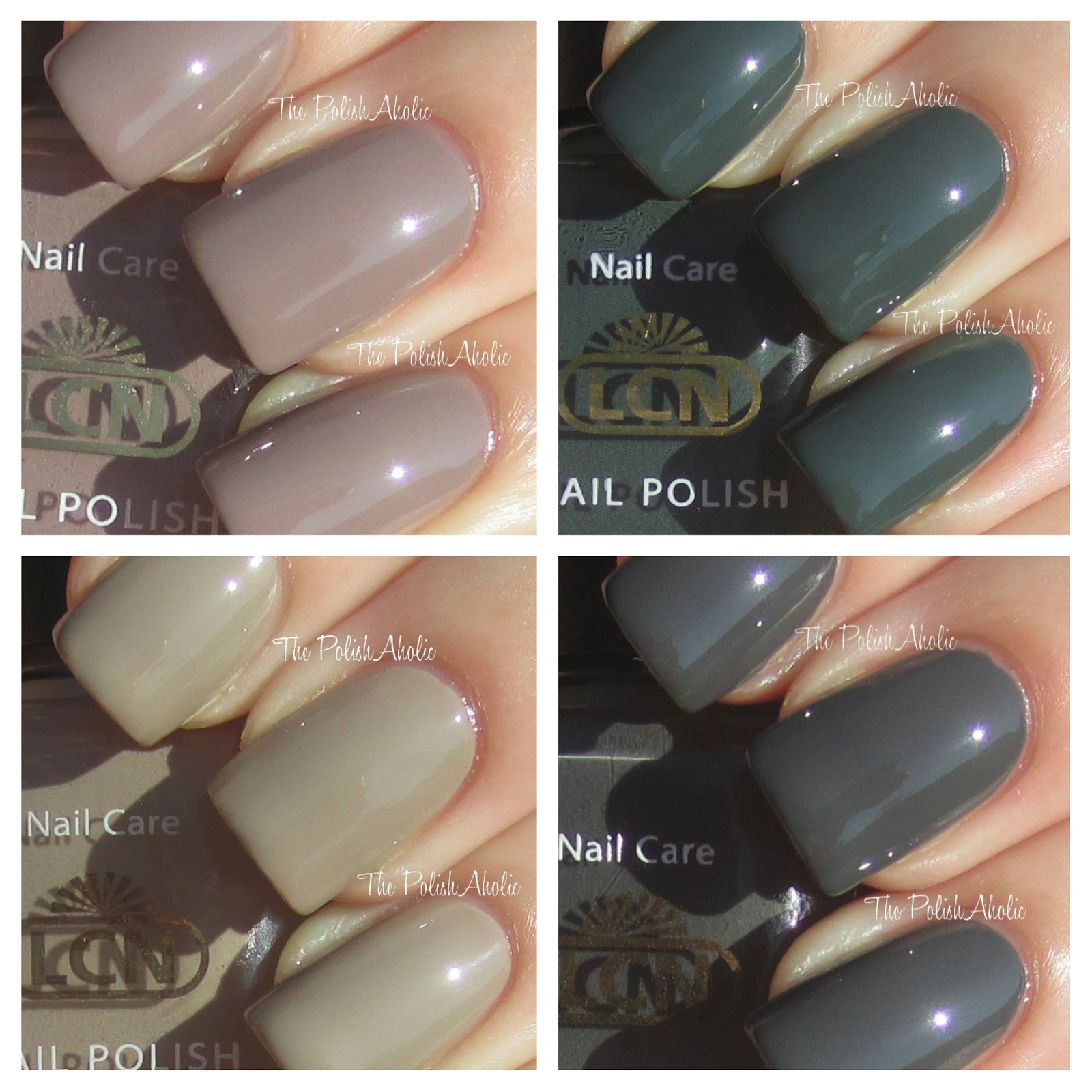 The PolishAholic: LCN Fall 2012 Urban Expression Collection Swatches