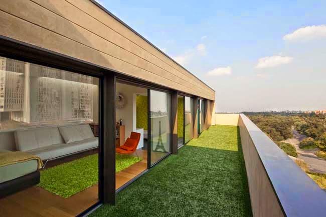 Casas minimalistas y modernas casa moderna en mexico for Casas modernas en mexico