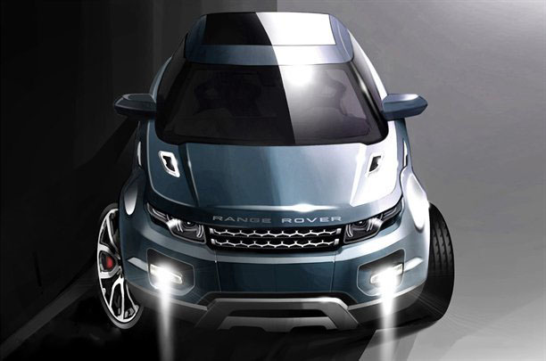 a car 2014 Land Rover Grand Evoque