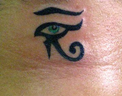 Fotos de Tatuagens Femininas de Olho
