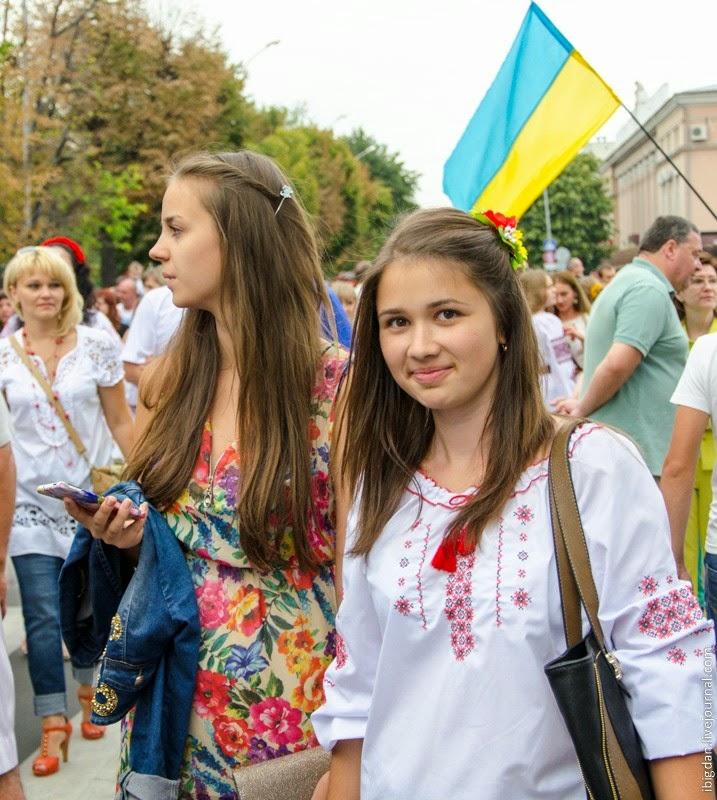 Парад Вышиванок в Кременчуге. Фото
