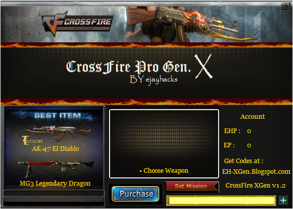 Crossfire Weapon Generator 2013