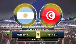 Argentina U-17 vs Tunisia U-17