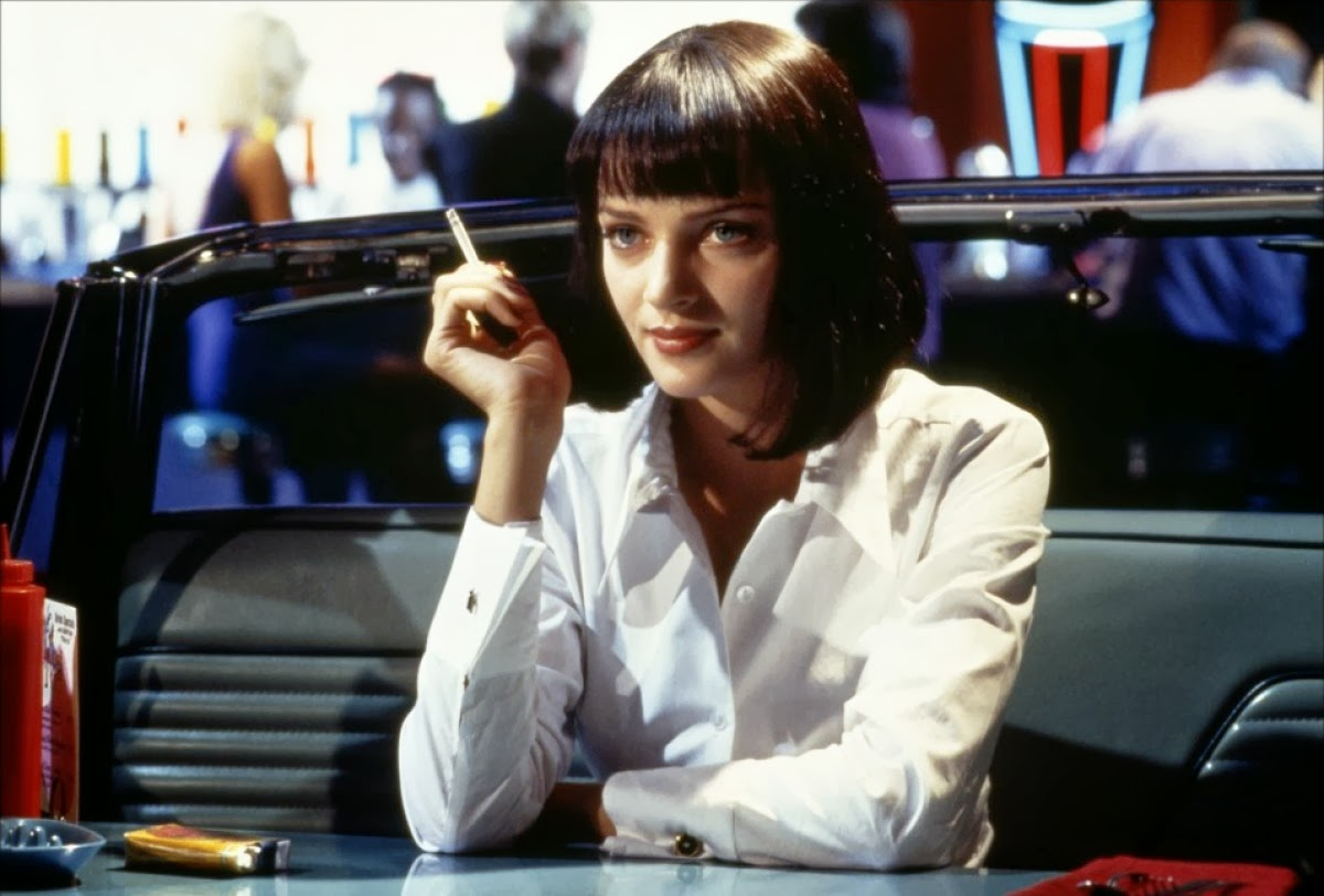 pulp fiction quentin tarantino s brash homage laden uma thruman as gangster s ravishing wife pulp fiction directed by quentin tarantino
