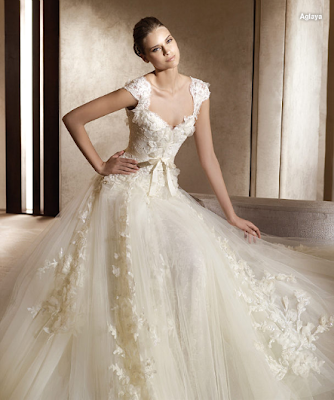 Elie A-line Lace Wedding Dresses