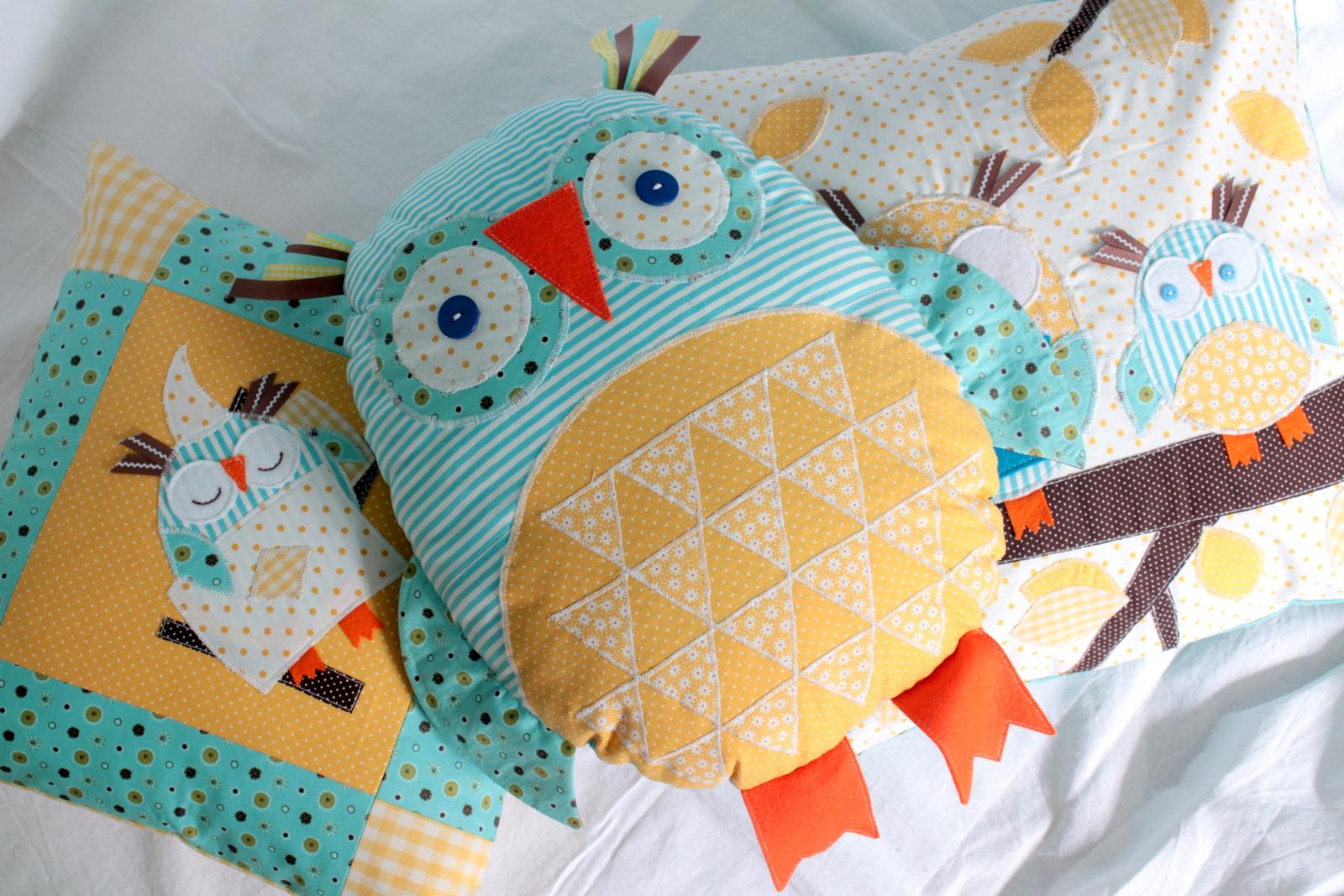 Подушки с совами фото