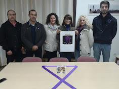 Acto UDPñ contra la violencia de Género.