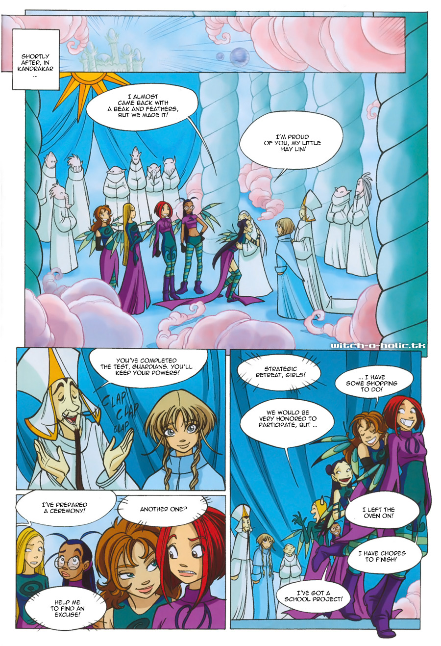 Read online W.i.t.c.h. comic -  Issue #135 - 35