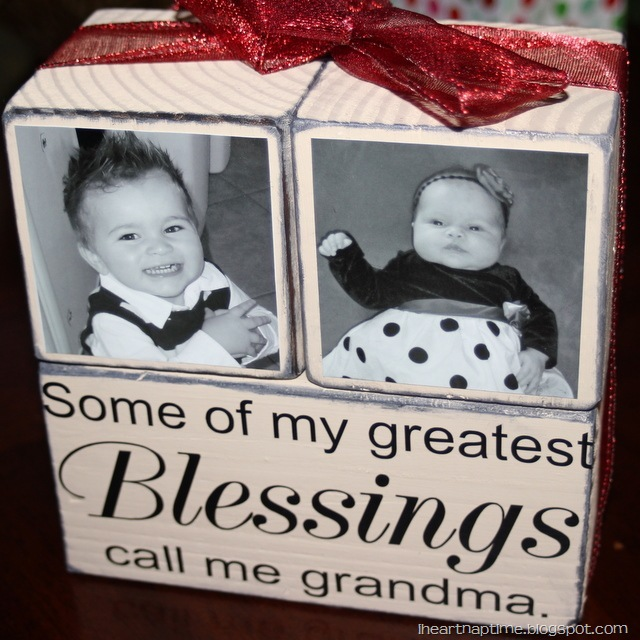 ... in the Motherhood: A Homemade Christmas: Gift Idea for Grandparents