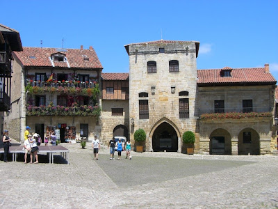 Main square of Santillana del Mar