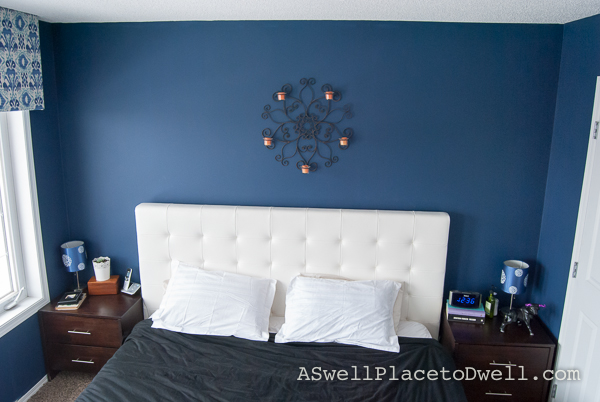 Master Bedroom Makeover at www.aswellplacetodwell.com