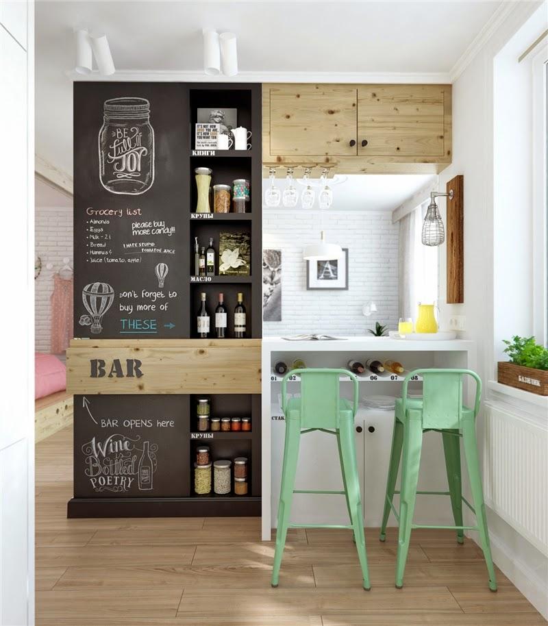 nische wohnzimmer nutzen:Modernes Mid-Century Design mit raffinierten Stauraum-Lösungen mit
