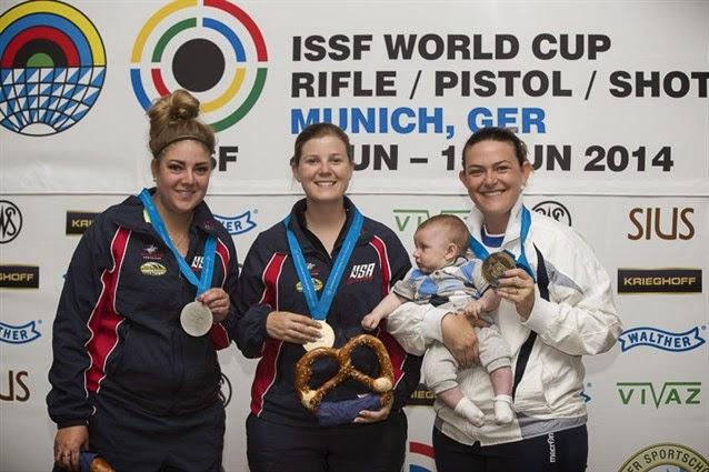 Norte-americanas dominam a Fossa Olímpica em Munique; duelo familiar decide o bronze - Foto: Reprodução/ISSF