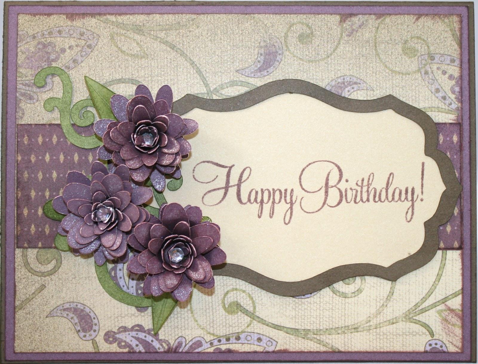Scrapbook ideas using cricut - Birthday Card Using Cricut Ole Cartridge Crafty Ideas Pinterest 624x493 Heartfelt
