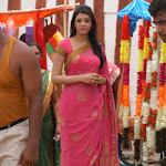 Kajal Agarwal in Pink Saree  Pics