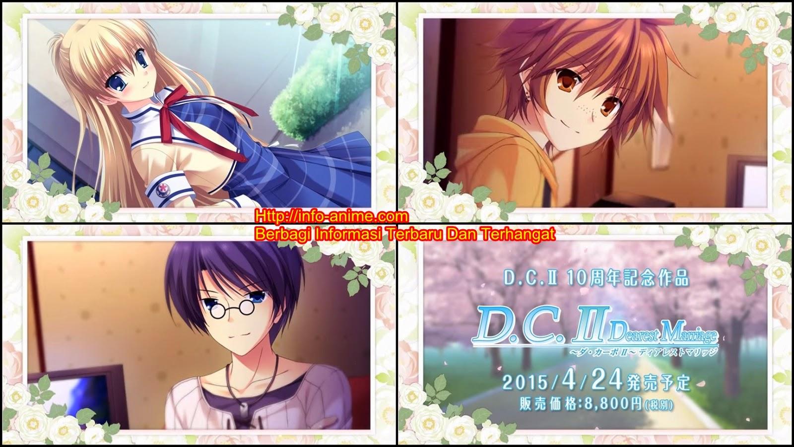 [ Info-Anime ] Game Visual Novel Da Capo II Dearest Marriage Tayangkan Trailer Baru