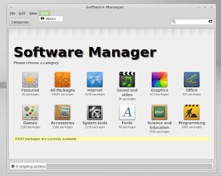 Linux Mint 11 szoftverközpont
