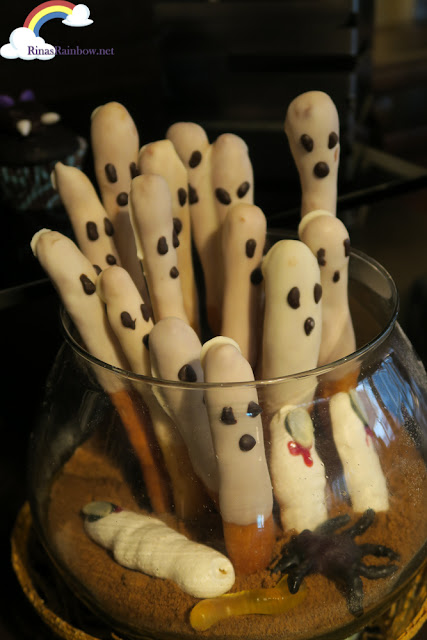 Ghost bread sticks