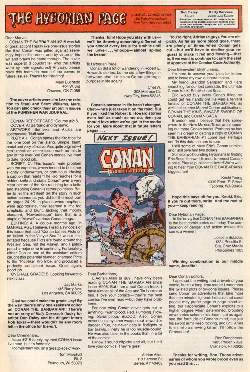 Conan the Barbarian (1970) Issue #222 #234 - English 24