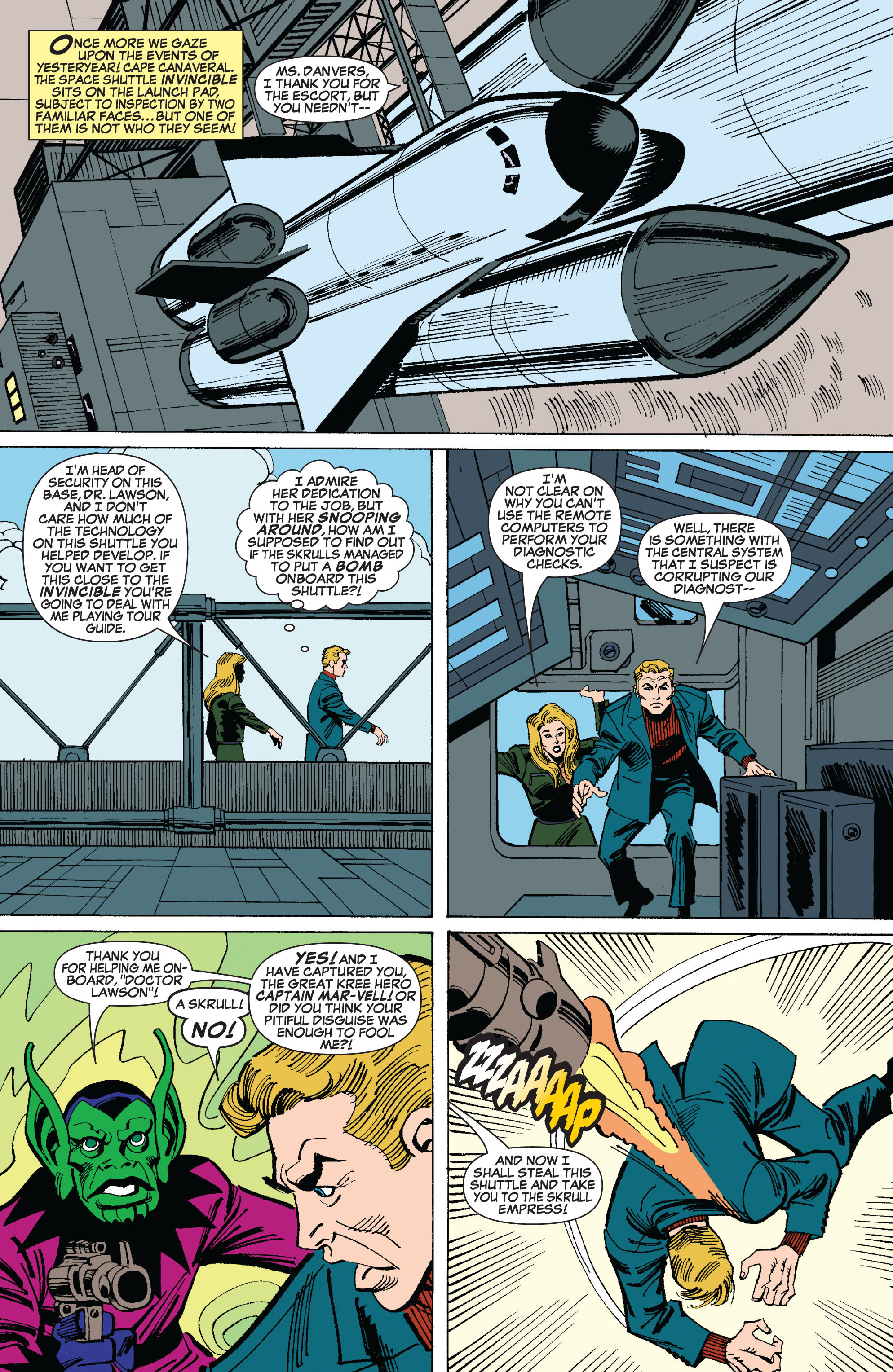Read online Secret Invasion: The Infiltration comic -  Issue #8 - 13