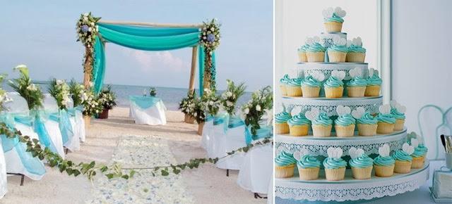 decoracao casamento azul turquesa e amarelo : decoracao casamento azul turquesa e amarelo:Casando em Brasília – DF: Decoração de Casamento: Azul Tiffany