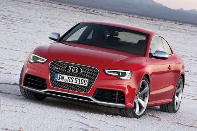 2012 Audi RS5 Coupe Red Wallpaper