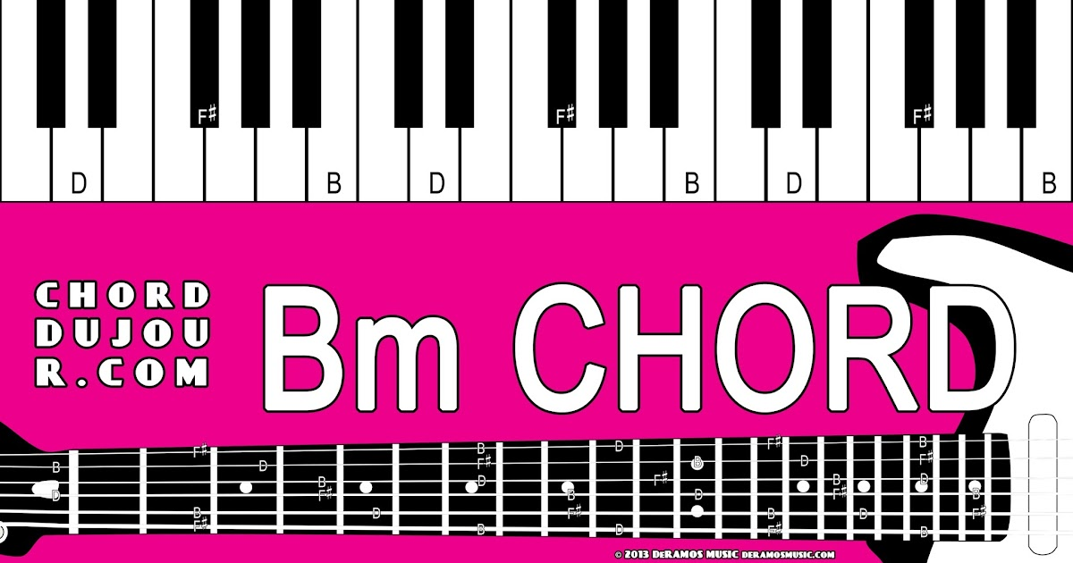 Chord Du Jour Dictionary Bm Chord