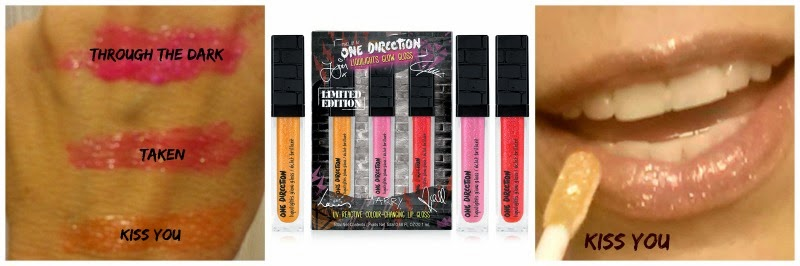 Makeup By 1D LIQUILIGHTS GLOW GLOSS By One Direction and barbies beauty bits