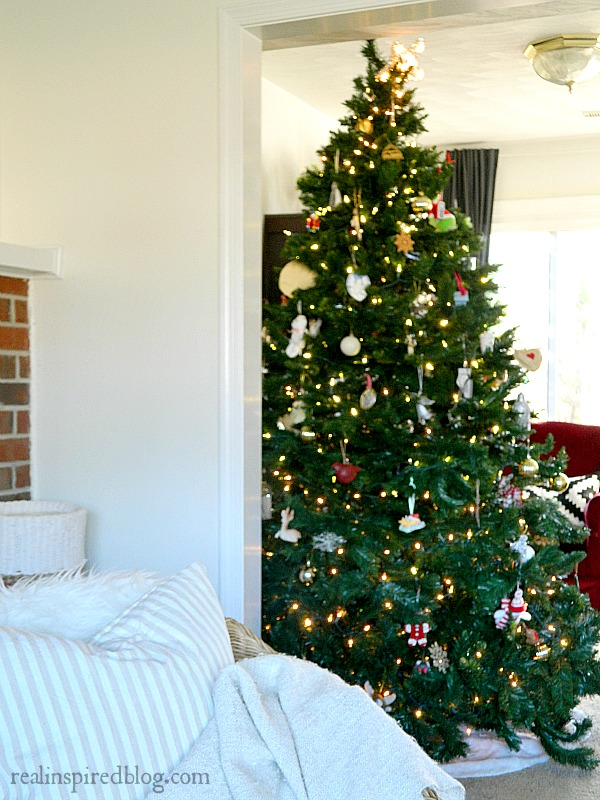 Rustic Christmas Home Tour 2015 Tree