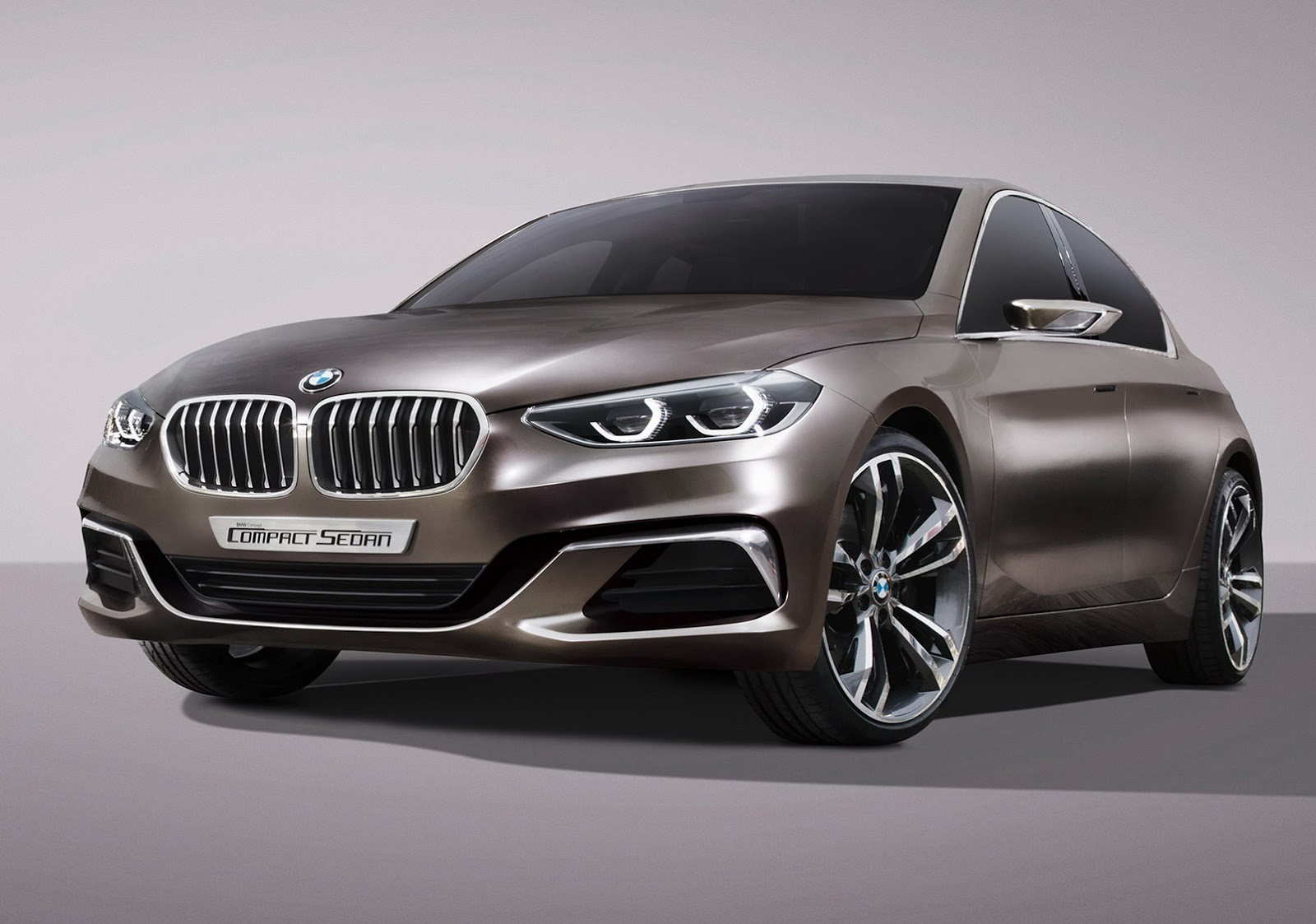 bmw concept compact sedan previews 1 or 2 series sedan. Black Bedroom Furniture Sets. Home Design Ideas