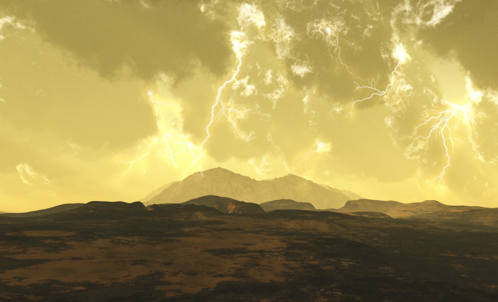 Beyond earthly skies cooling a venus rover figure 1 artists impression of the venusian surface with lightning in the background credit greg s prichard voltagebd Choice Image