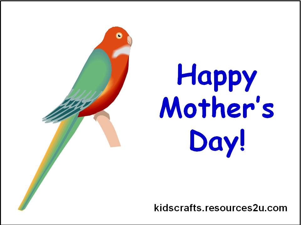 mothers day cards for children. Free Homemade Mothers Day Card