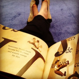 cecelia bedelia reading morris lessmore