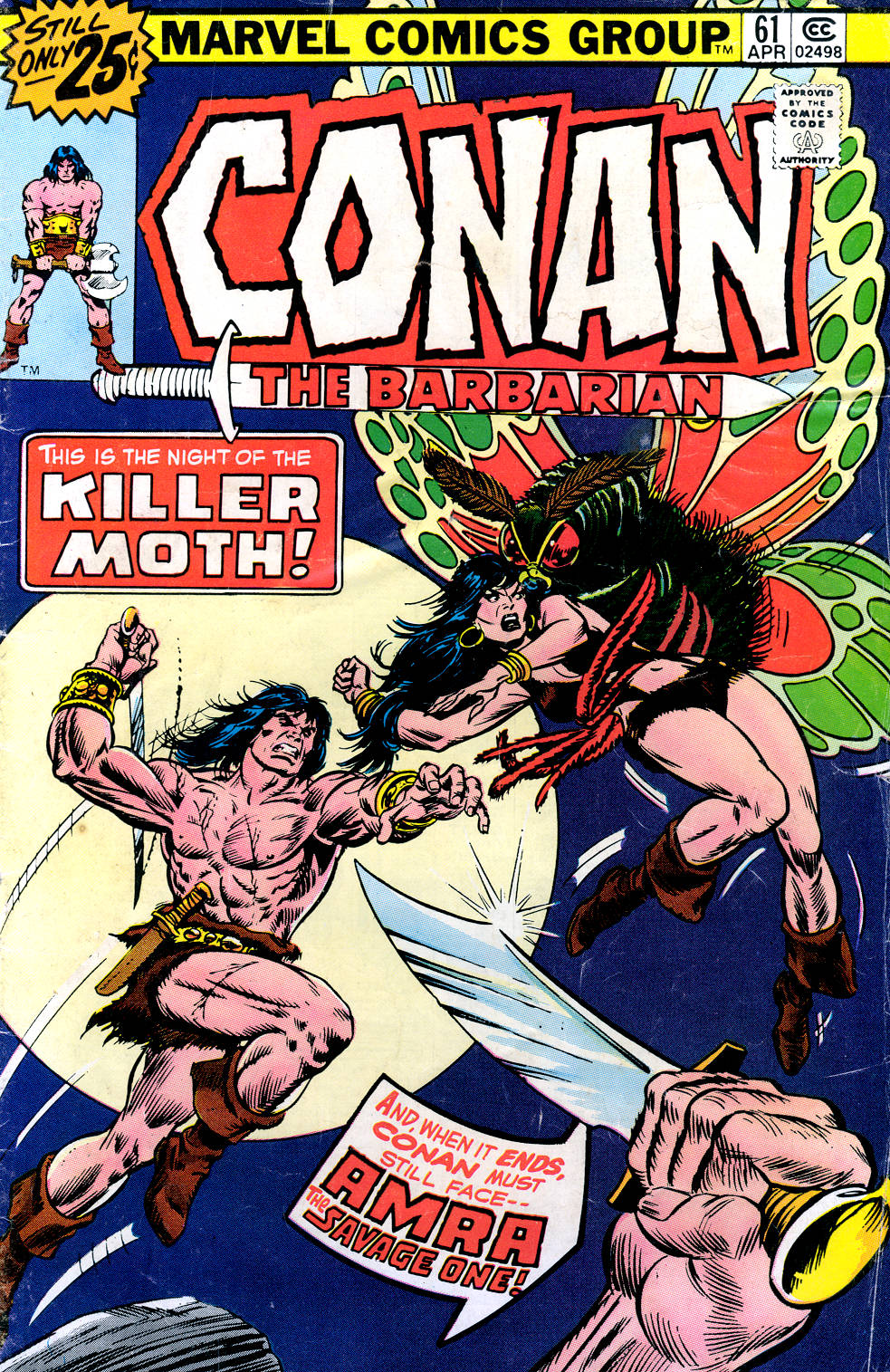 Conan the Barbarian (1970) Issue #61 #73 - English 1