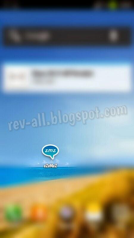 Ikon aplikasi eZeMeS - gratis SMS menggunakan hp android dengan internet (rev-all.blogspot.com)