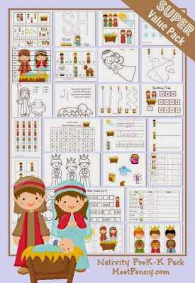 Nativity Printable Pack!