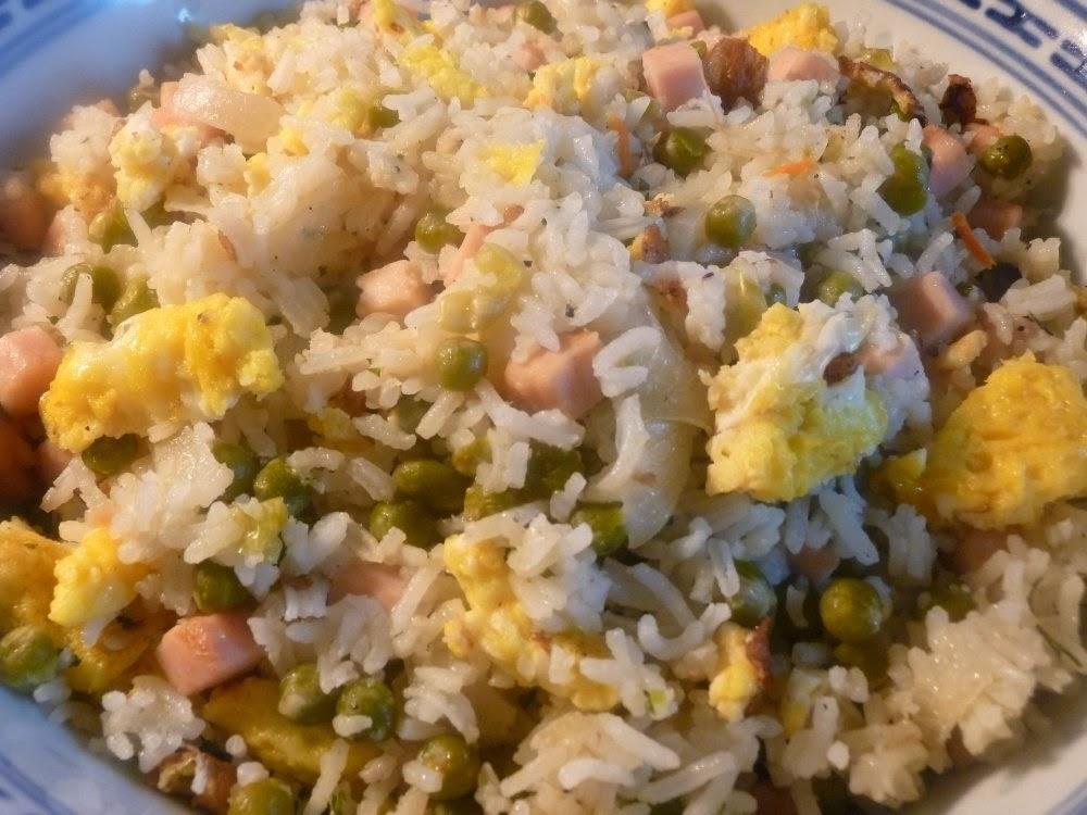 Recettes asiatiques pour fêter le Nouvel an chinois : riz cantonais