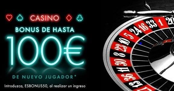 Código de bonus casino bet365 en Español
