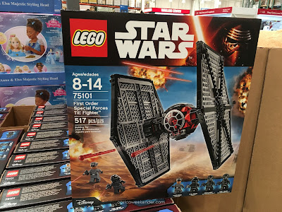 Engage your child's imagination with the Star Wars Lego TIE Fighter