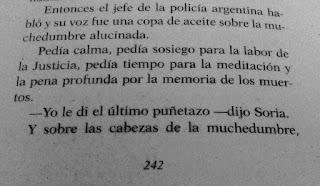 Plata quemada, Liberaij, Piglia, diario Acción