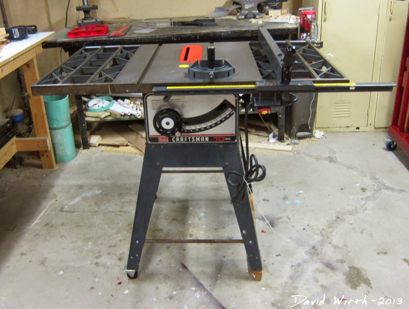 craftsman table saw, sears, 10