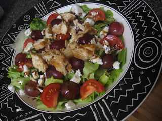 Chicken Goat Cheese Salad