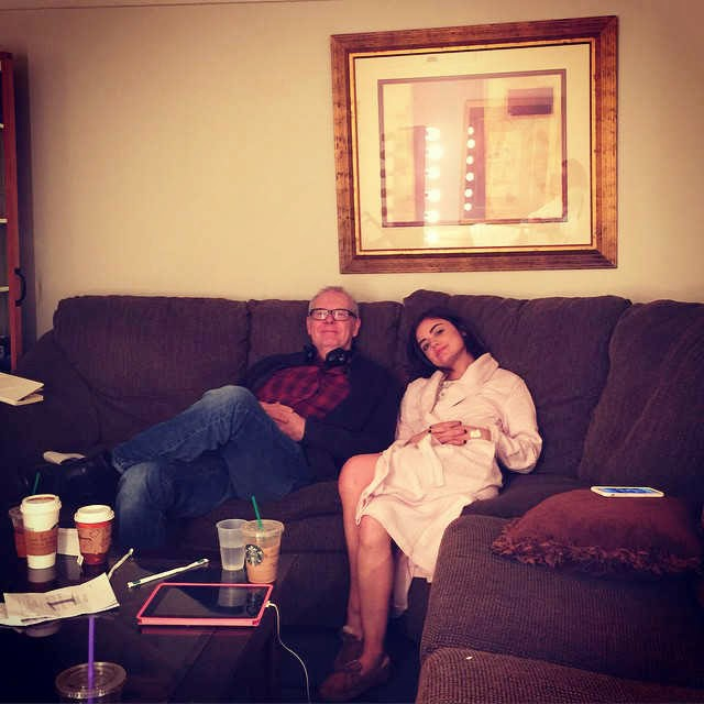 PLL BTS Lucy Hale and Norman Buckley 6x03